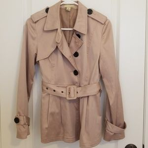 Forever 21 Khaki Trench Coat